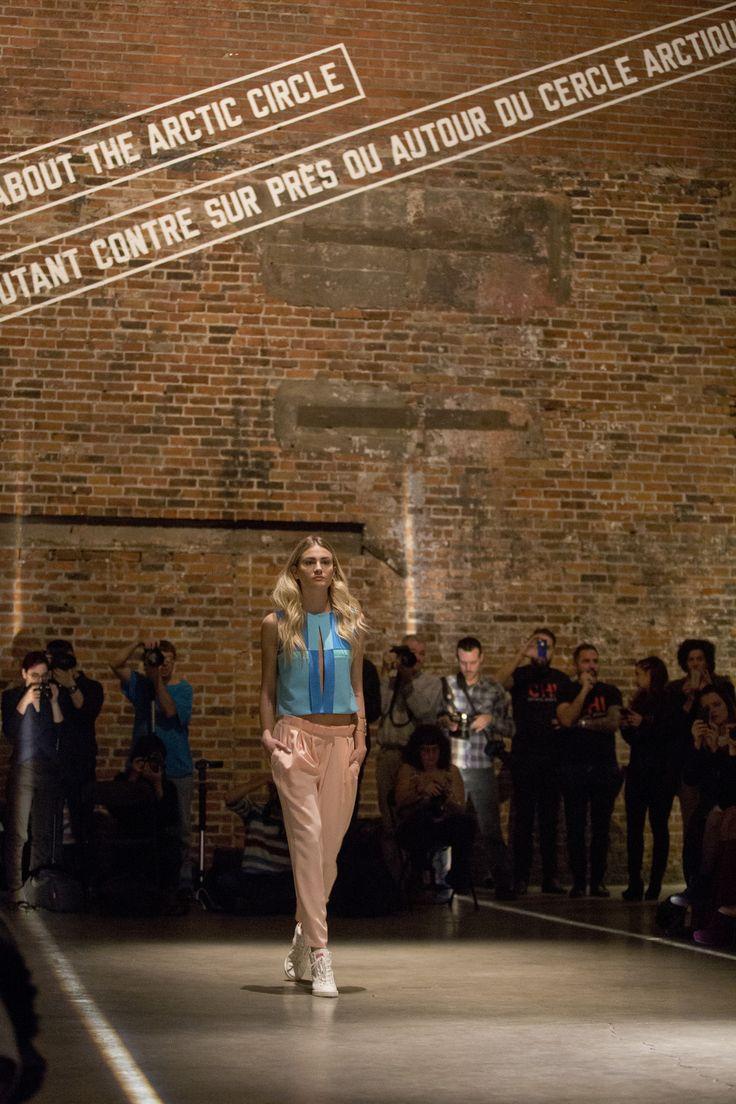 location renting montreal Présentation de la collection Printemps-Été 2015 de #MelissaNepton à la Fonderie Darling