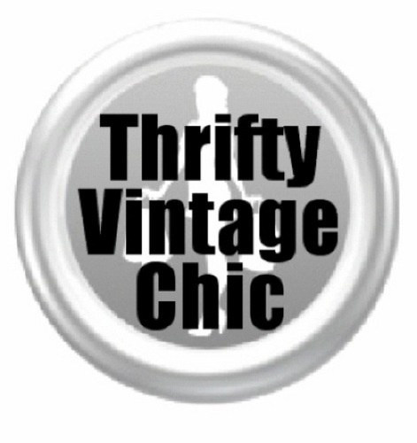 Thirfty Vintage Chic = Selective Goodwill Treasures!