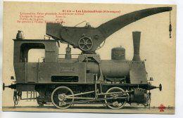 TRAINS 195 ALLEMAGNE Les Locomotives 81 bis -  Machine Locomotive Grue pivotante écartement normal | For sale on Delcampe