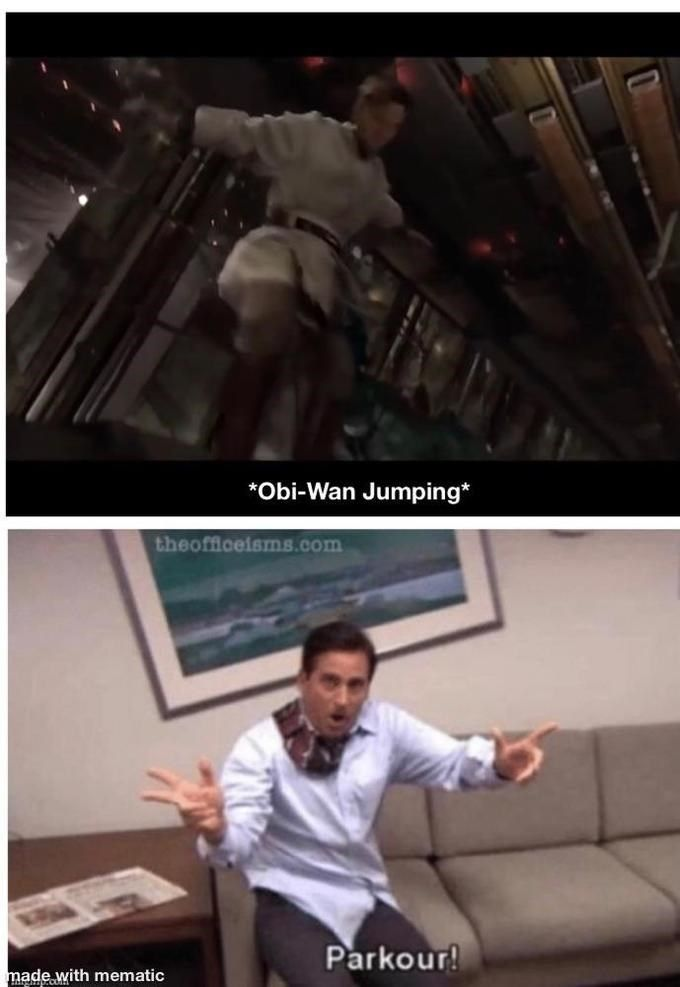The Parkour Meme From The Office Is Making Its Rounds Again And We Re Not Mad About It Office Parkour Parkour Memes