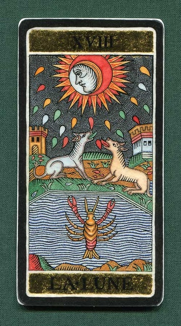101 Best Images About The Moon ( Tarot Card) On Pinterest