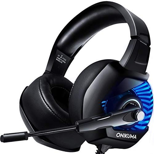 Onikuma Ii Stereo Gaming Headset For Ps4 Xbox One Pc Nintendo Switch Noise Cancelling Over Ear Headph Headphones With Microphone Gaming Headset Ps4 Headset