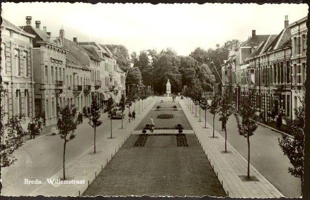 Willemstraat 1950