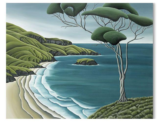 Otago Peninsula. Diana Adams, NZ Artist