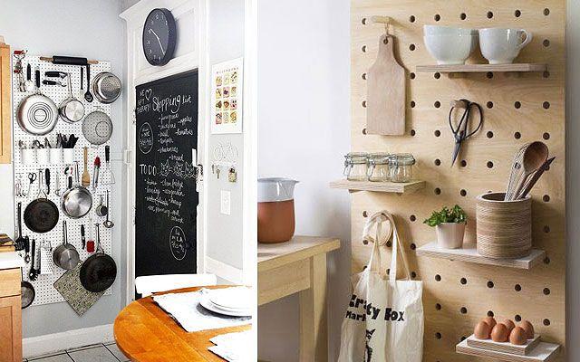 Ideas para decorar paredes de cocinas