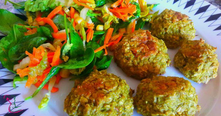 Brokolicové vločkové karbenátky