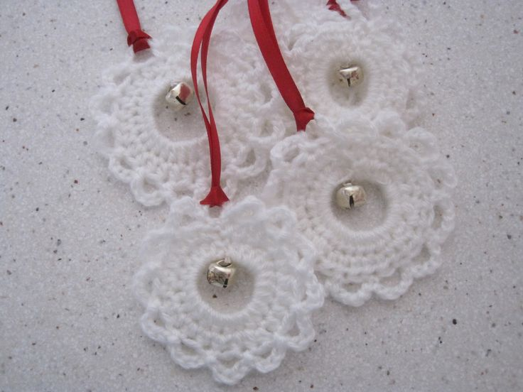 tutorial for crochet christmas decoration