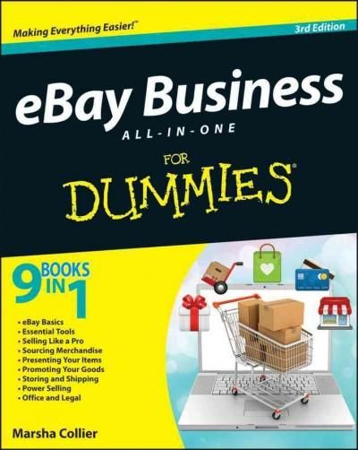Everything you need to know to start and run a successful eBay business eBay now has 100 million active users and just keeps growing. And they have turned to For Dummies books and bestselling eBay aut