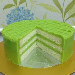 Pandang Custard(Kaya) Cake