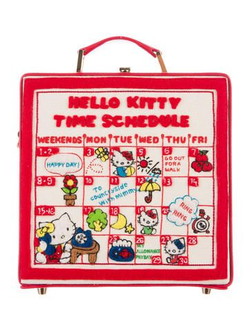 2016 Hello Kitty Time Schedule Bag