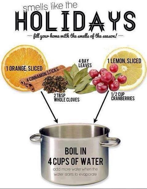 Make your house smell like the holidays