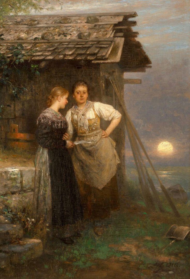 Johann Friedrich Engel (German, 1844 - 1921) ~ The Love