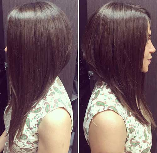 how to cut long hair in a straight line yourself