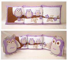 almohadones de buhos