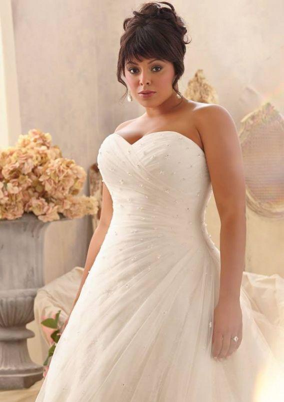235 best Wedding Dresses for Curvy Brides images on Pinterest ...