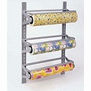 THIS is what I want. A wrapping paper holder and cutter. Nice.