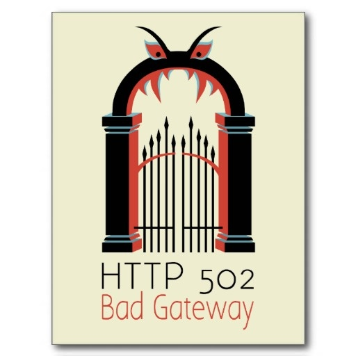 What does bad gateway 504 mean / freemobilerecharge ga