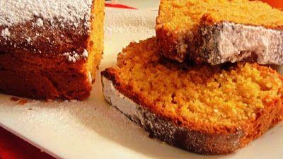 Rhubarb Baby: Słoneczne ciasto pomarańczowe