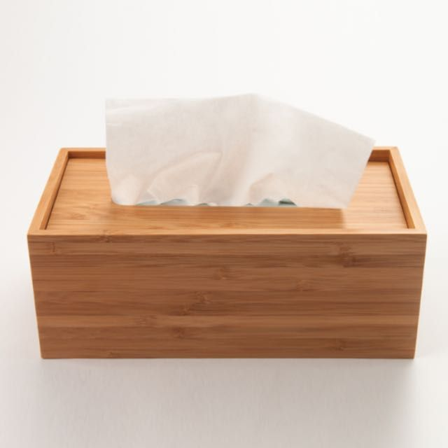 Scandinavian Wooden Tissue Box In Minimalist Style For Home on Carousell