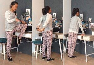 Sådan træner du på kontoret | Costume.dk