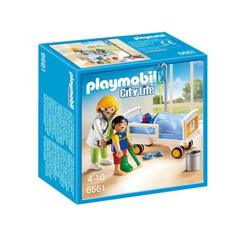 Playmobil 6661 Ziekenhuiskamer Met Arts