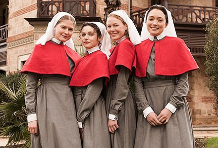 ANZAC Girls, a brilliant new Aussie show highlighting the brave heroics of the nurses--Coming October 6 to http://acorn.tv!