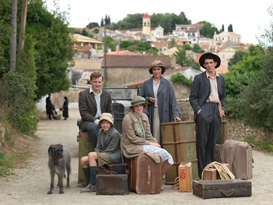 "The Durrells: a new 6 part period drama set in 1935. From ITV & based on Gerald Durrell's classic Corfu memoirs including ""My Family and Other Animals."""