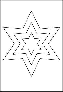 Kostenlose Malvorlagen Stern Coloring And Malvorlagan