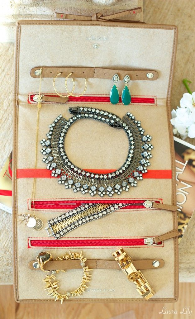 16 best Stella Dot Bring It Jewelry Roll images on Pinterest