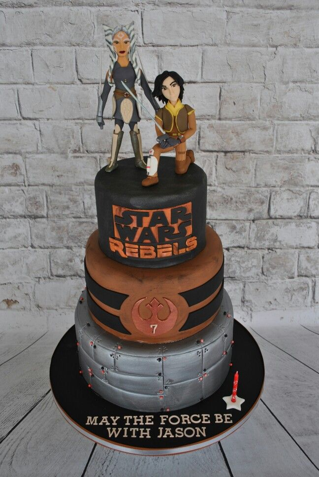 Star Wars Rebels Cake Images : 387 best images about Star Wars Cakes on Pinterest Yoda ...