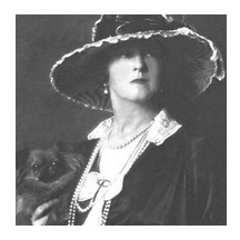 """In 1912, business concerns in New York caused the Duff Gordons to book first-class passage on Titanic. Lucy, Lady Duff Gordon later recalled she had not expected to travel in such luxury and remembered many details of the trip, such as pink curtains in her stateroom and daffodils adorning the dinner table where they enjoyed their last meal on the ship. On the night of April 14, she was already in bed when she heard a noise, which she described as sounding like, """"It was like nothing I had…"""