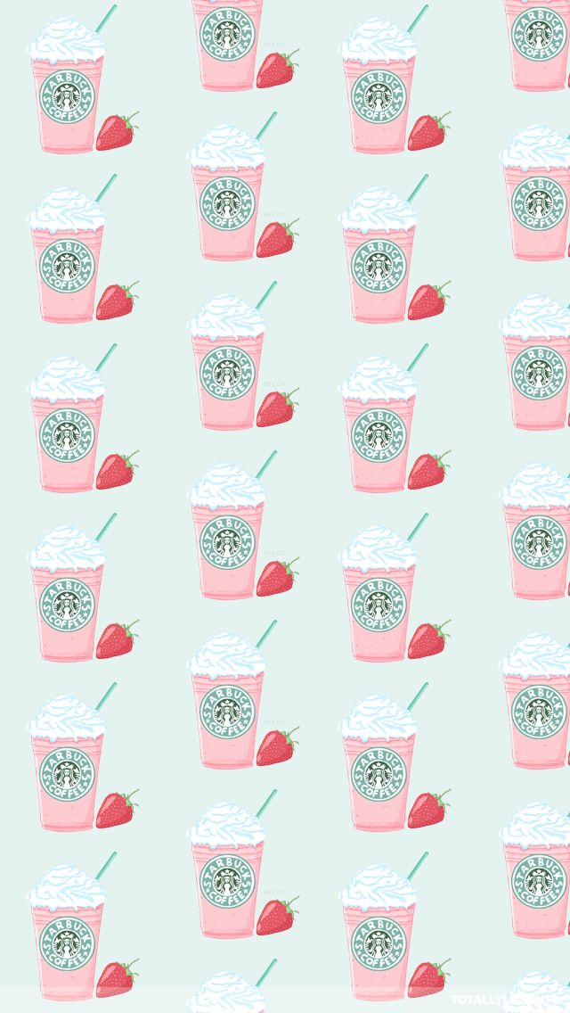 Starbucks ★ Download more Girly iPhone Wallpapers at @prettywallpaper