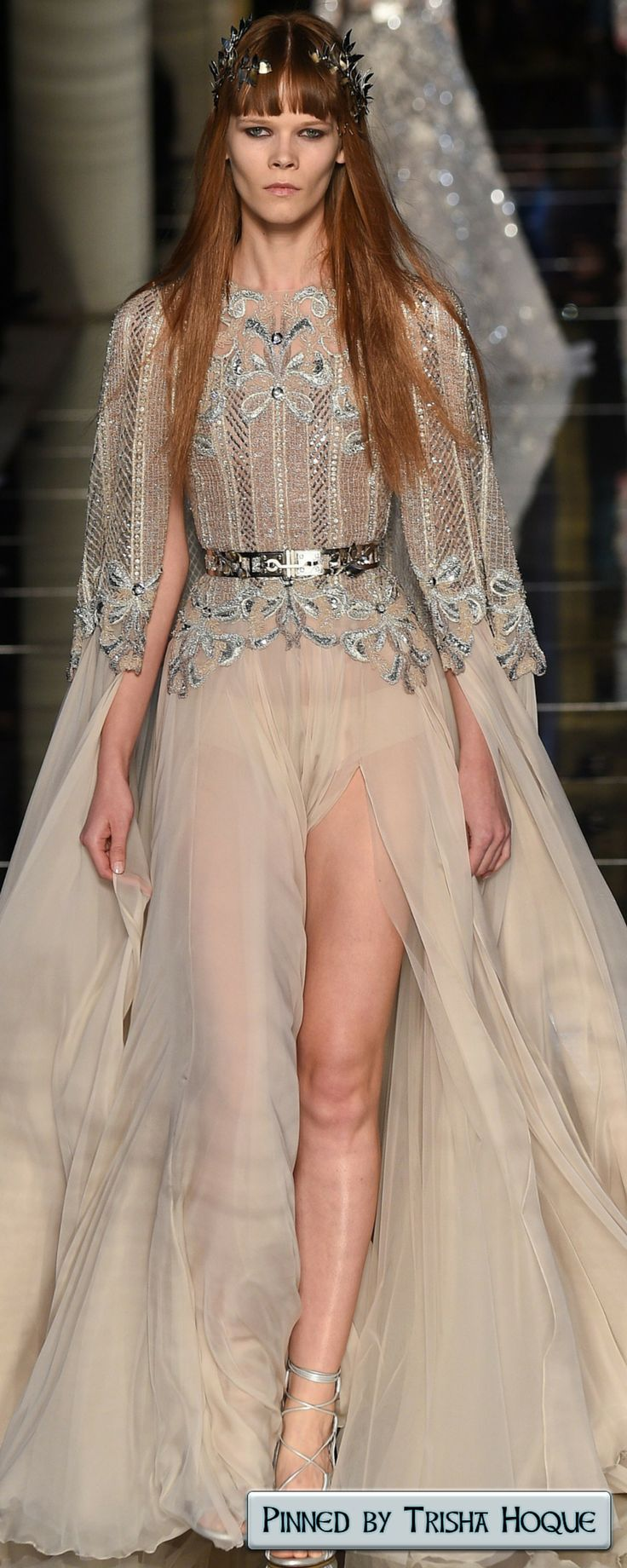 Zuhair Murad Spring 2016 Couture  Fashion Trends 2016/2017  https://www.pinterest.com/trishahoque/fashion-trends-20162017/