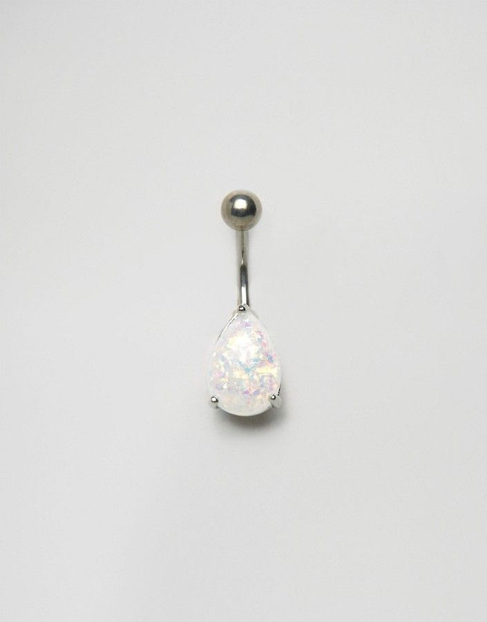 Kingsley Ryan Opal Triangle Belly Bar #ASOS #clicktoshop #thesaleshopper #stockingfiller