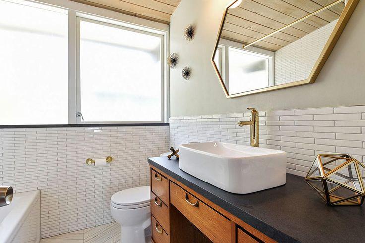Mid Century By Tetsuo Takayanagi. Mid Century BathroomMinimalist Living Modern ...