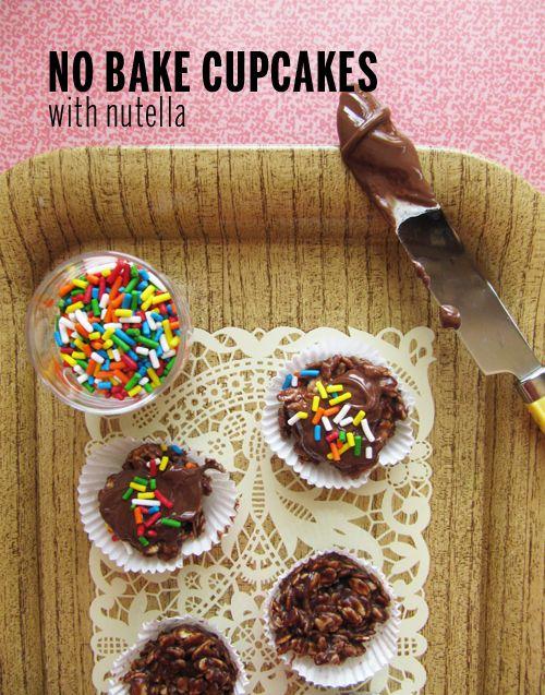 No Bake Cupcakes