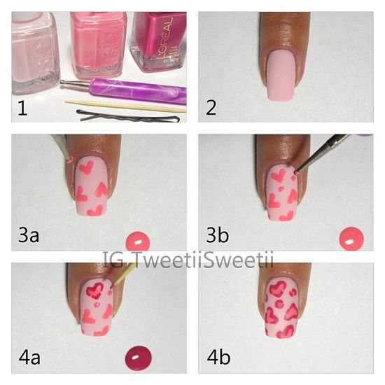 15 Pretty and Easy Nail Tutorials You Must See!!! I am going to try this one!!! I'll try. And I'll make sure to post a pic