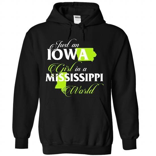 IOWA-MISSISSIPPI girl 02Lime - #funny gift #creative gift. MORE INFO => https://www.sunfrog.com/States/IOWA-2DMISSISSIPPI-girl-02Lime-Black-Hoodie.html?68278