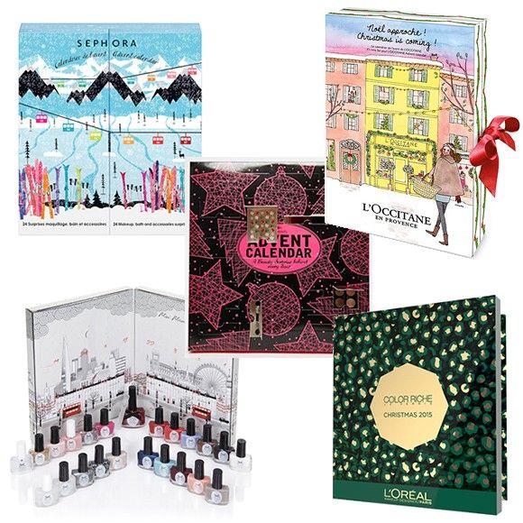 5 calendriers de l'Avent beauté qui donnent envie d'être en décembre : http://www.taaora.fr/blog/post/calendrier-avent-beaute-sephora-loccitane-loreal-paris-ciate-noel-2015 #ciate #sephora #loccitane #loreal