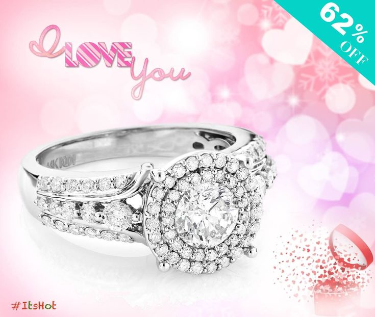 This ring collects your love story... heart emoticon