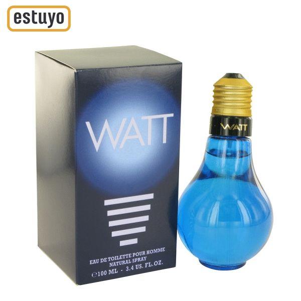 Watt Blue de Cofinluxe Para Hombre: Fragancia Amaderada. Se Lanzó En El Año 1996.