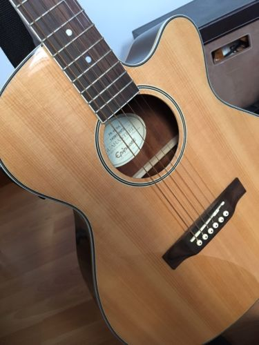 Epiphone semi acoustic guitar