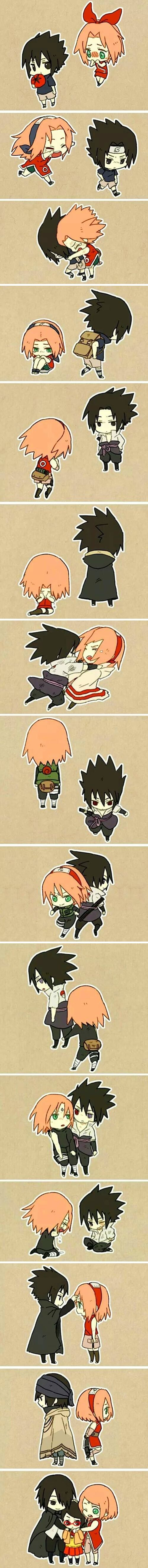 Sasuke and Sakura lindo casal