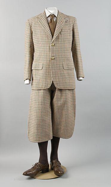 Golfing Suit 1933 The Metropolitan Museum of Art