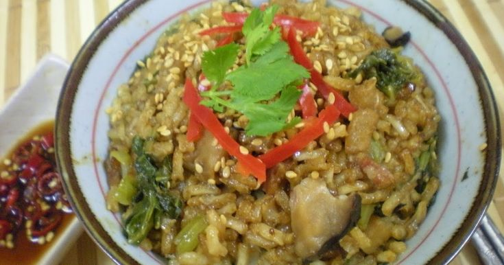 Mustard Cabbage 芥菜, Chinese Mushrooms, Dry prawns and Lap Cheong (I used Kwai Fah Yoke 桂花肉) Here is the recipe Ingredients 2 mea...