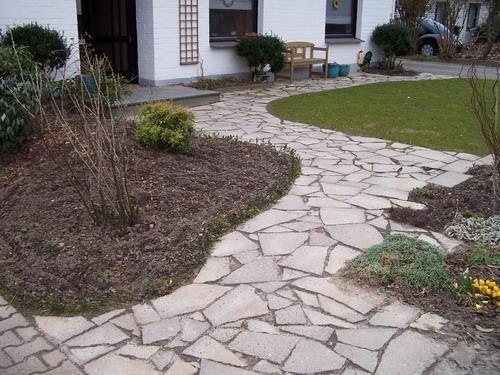 Bruchsteinweg Aus Waschbeton Seite 1 Gartenpraxis Mein Schoner