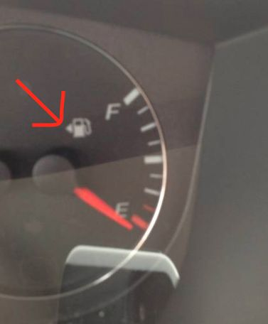 If you can never remember which side of the car your gas tank is on, just check the fuel gauge. There should be a little arrow that indicates the correct side.