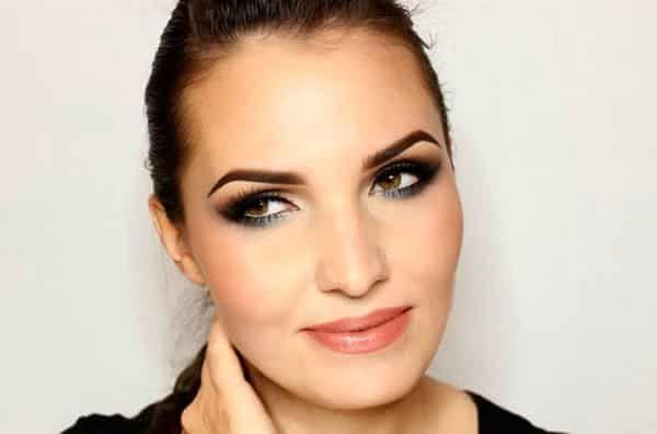 Как правильно красить глаза тенями, карандашом или тушью   LadyWow.ru -  Макияж для нависшего века