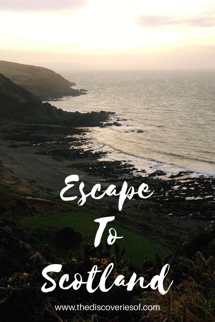 Escape to Scotland for a luxury break at Knockinaam Lodge.