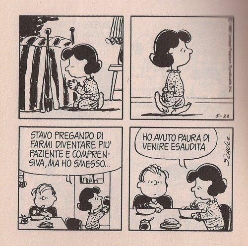 Peanuts in italiano